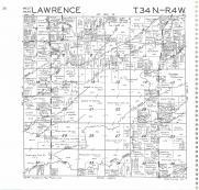 Lawrence T34N-R4W, Rusk County 1985